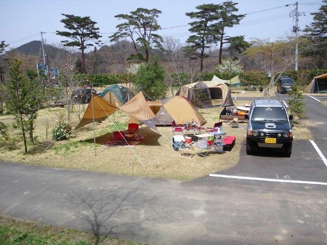 2012.4.29-30 キャンプデビュー