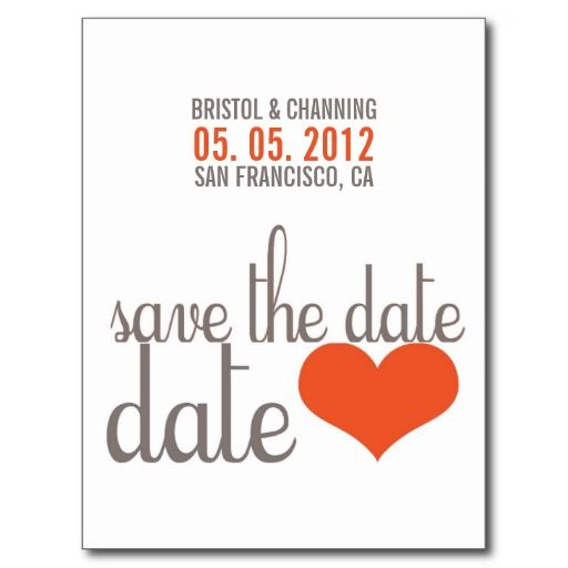 Cheap Save the Date Postcards (Pg. 2)