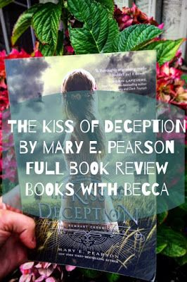 My full review and discussion as well as my spoiler free review of  The Kiss of Deception by Mary E. Pearson. Readers will be will be kept guessing and on the edge of their seats throughout the engrossing fantasy novel that is The Kiss of Deception by Mary E. Pearson. Princess Lia is a first daughter being forced to hold up centuries of tradition