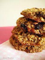 """Estas sencillas, sabrosas y sanas galletas de avena os van a encantar . Se que """"galletas de avena"""" no suena ni de lejos tan bien como """"gal..."""