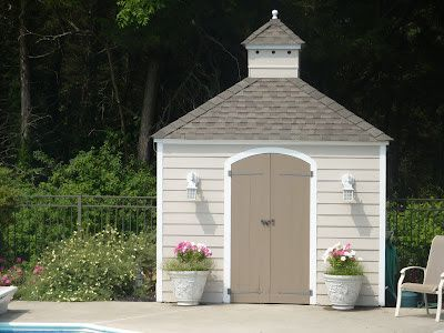 Cottage Living - from Beach to Burbs: A LOVELY POOL/GARDEN SHED