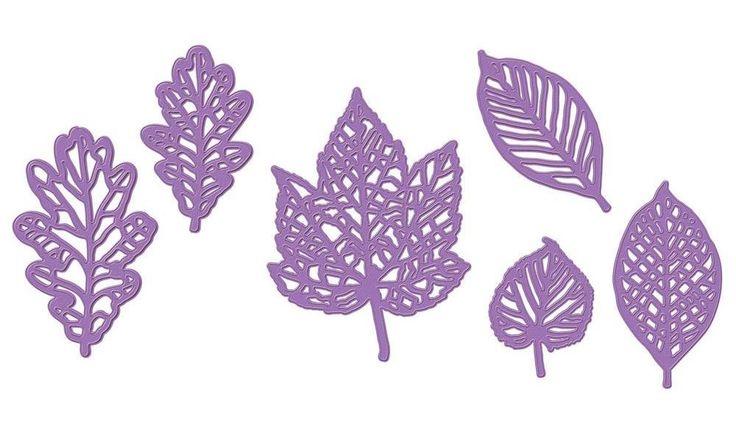 「Little Angel♪」で取り扱う商品「Prima Marketing Purple Metal Die - 584092 Forest Leaves」の紹介・購入ページ