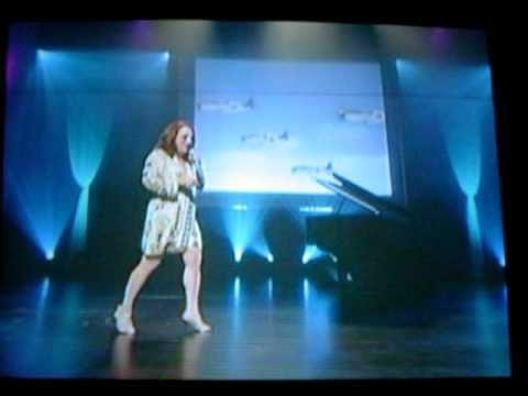 LIVE! TEENA MARIE SINGING HIS EYE IS ON THE SPARROW from 2009
