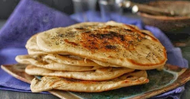 Receta de pan hindú naan, como elaborarlo en cinco sencillos pasos