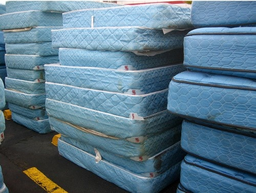How do you have your mattress picked up for free?