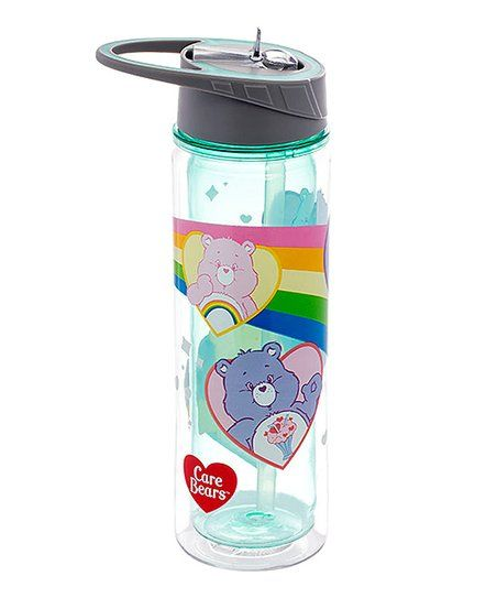c5df984ea5 This beary useful bottle is made from durable Tritan™ plastic and features  a convenient built-in straw and carrying handle.