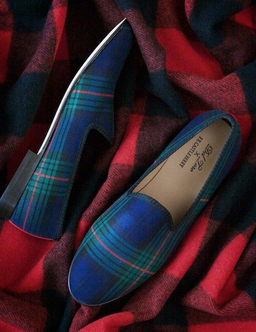 tartan- not likin the heel so much but this color on toms.... Yes :D