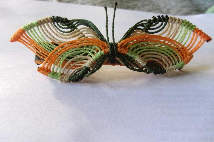 Butterfly macrame