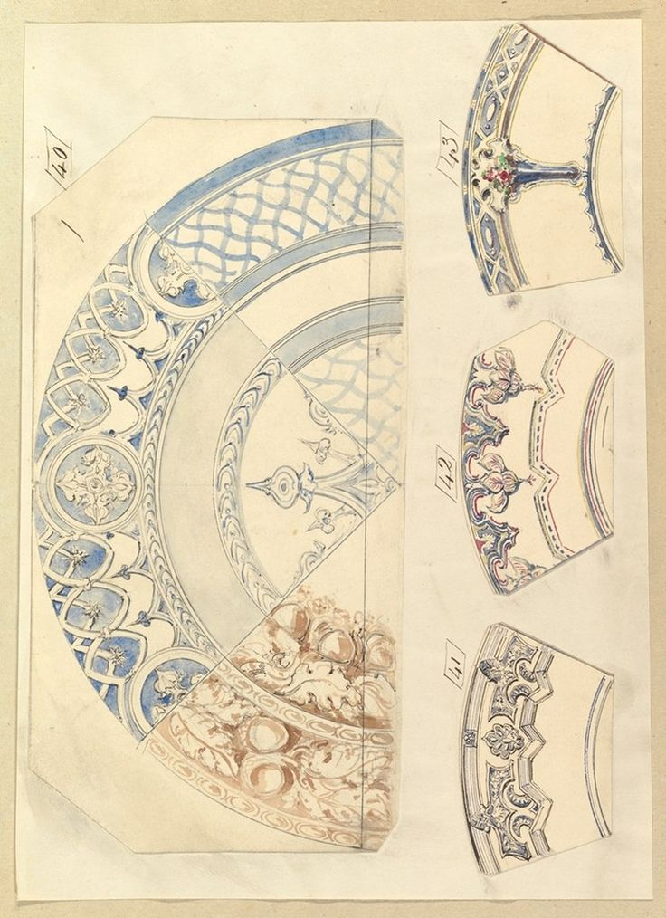 Designs for Decorated Plates
