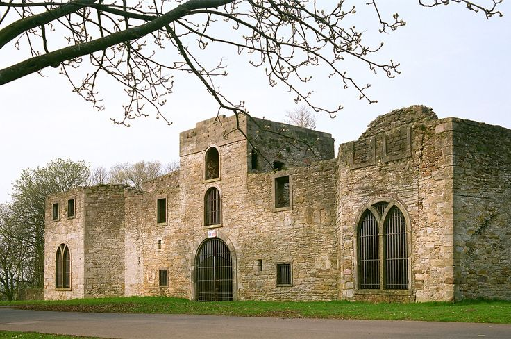 Workington Hall, Cumberland, England. This is where Mary Queen of Scots spent her first night in England after fleeing Scotland disguised as an ordinary woman, on this day 16th May, 1578