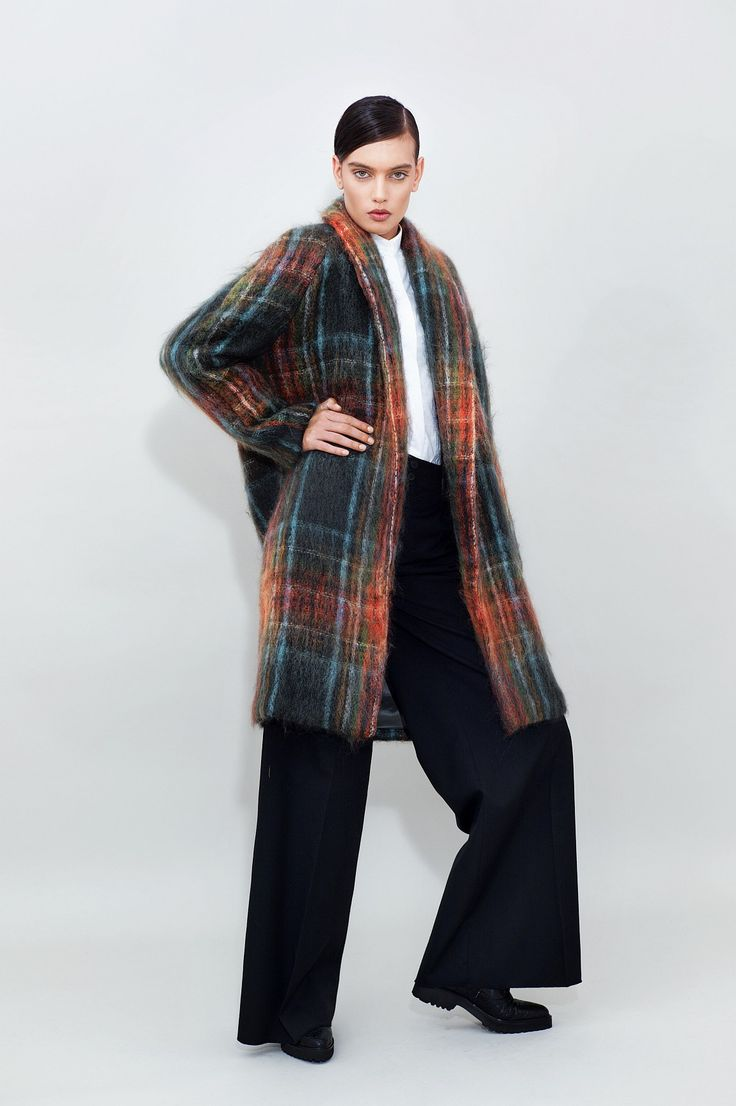 Belted Mohair Coat - chemistry