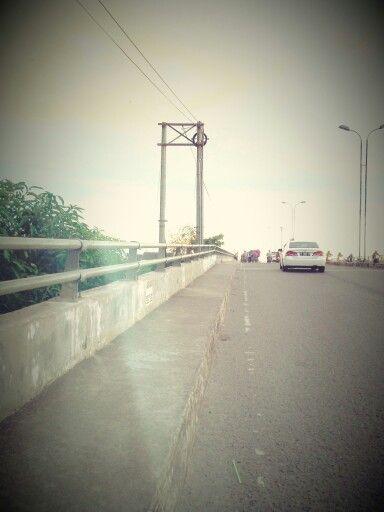 10November Bridge In Banjarmasin City  #Bridge#November#Evening#Banjarmasin