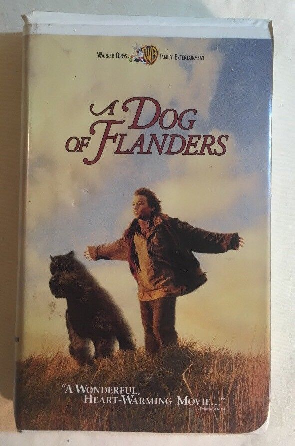 A DOG OF FLANDERS ~ VHS Movie - Jack Warden ~ Family/Drama ~ OOP