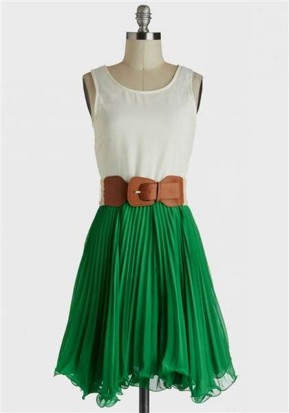 Cool green casual dresses 2018/2019 Check more at http://myclothestrend.com/dresses-review/green-casual-dresses-20182019/