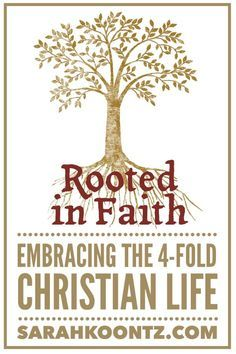 Are you ready to build a life rooted in faith, built up in community, and sustained by scripture? Embrace the 4-fold Christian life! | Christian Woman | Inspiration and Faith | Church life| Christian Clothing | Marriage Advice
