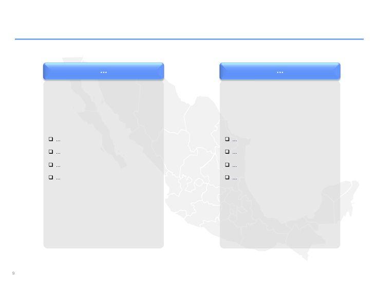 Descarga ahora Mapas de México editables en PowerPoint