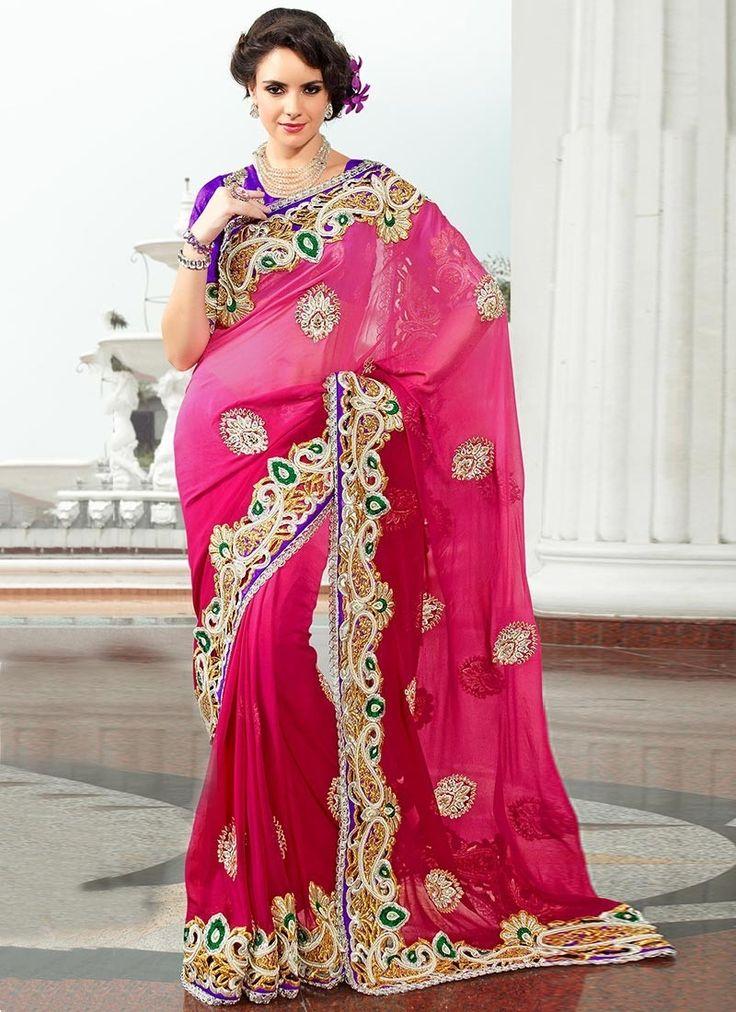 Mejores 140 imágenes de sari en Pinterest | Saris, Saris de seda y ...