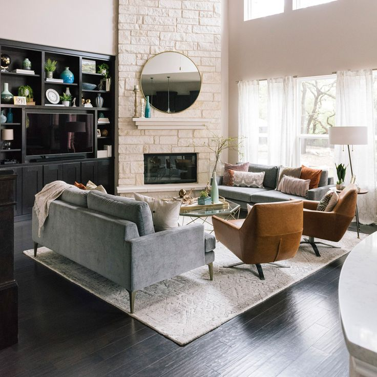 how to make two sofas work in your living room  front