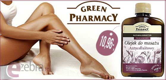 http://ezebra.pl  #masażantycellulitowy #olejekdomasażu #olejekantycellulitowy #walkazcellulitem #greenpharmacy #ezebrapl #kosmetyki