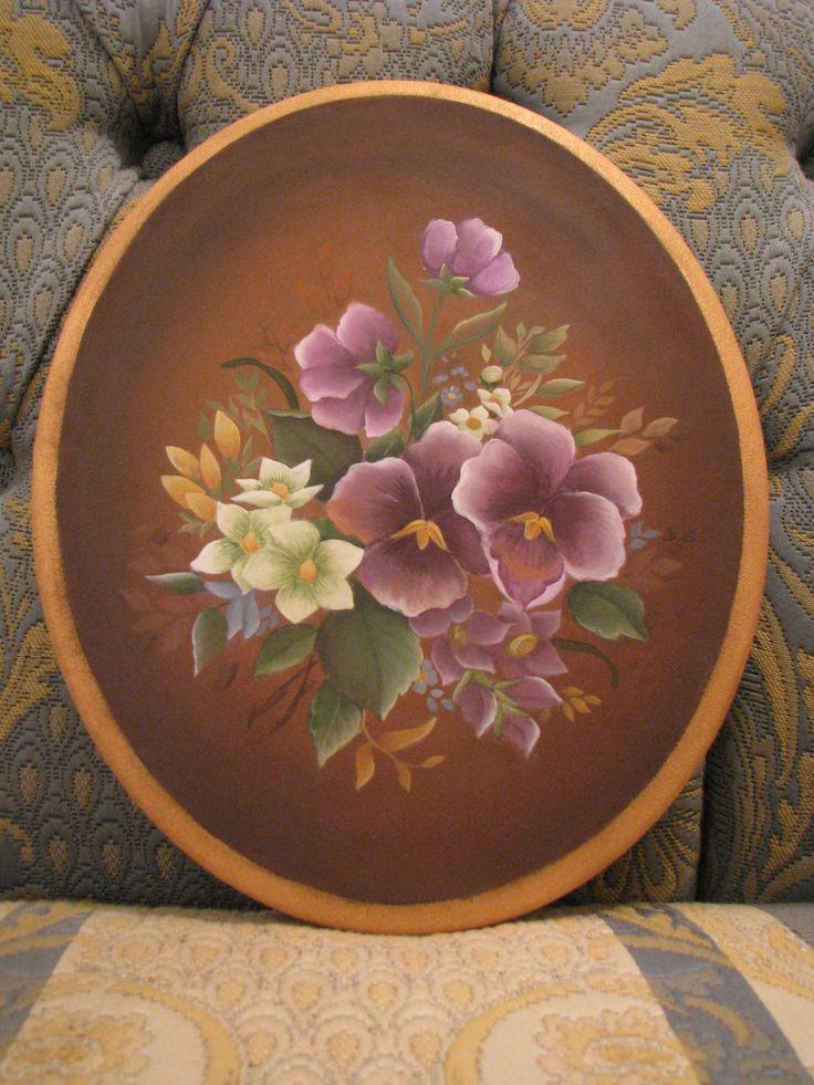 Viole Antiche: mio progetto di decorative painting codice MYP012