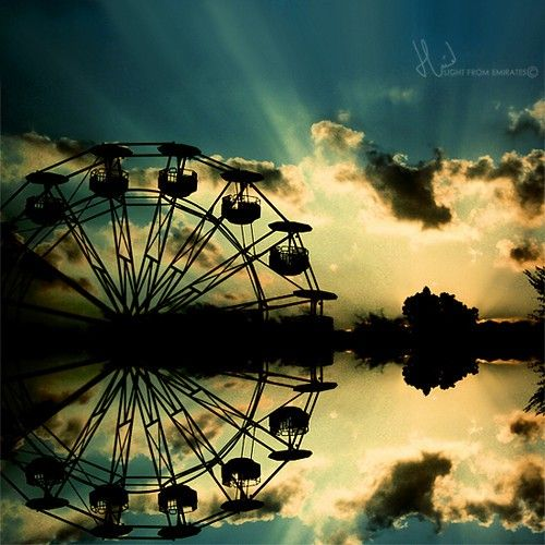imagination . .. by *light-from-Emirates: Picture, Photos, Carnival, Art, Beautiful, Ferris Wheels, Imagination, Light, Photography