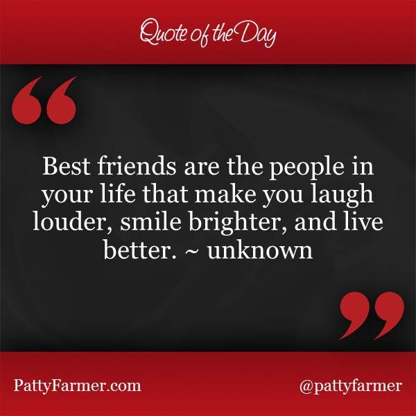 "Best Quotes On Smile For Friends: ""Best Friends Are The People In Your Life That Make You"