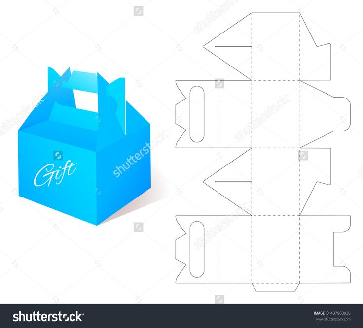 Best Box Template Images On   Boxes Paper Boxes And