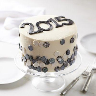 Happy New Year Cake #williamssonoma