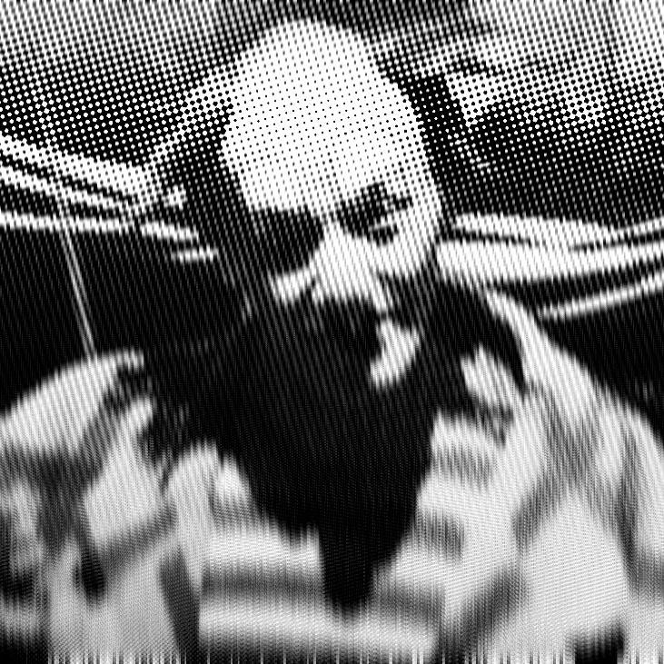 Glitched cover of 'Circe' soundtrack.  Circe - soundtrack to 'The Show of Shows' movie.  | clown | glitch | madness | artwork | art | music | soundtrack | sigur rós | psycho |