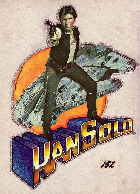 Han Solo. In Glitter. 1977.