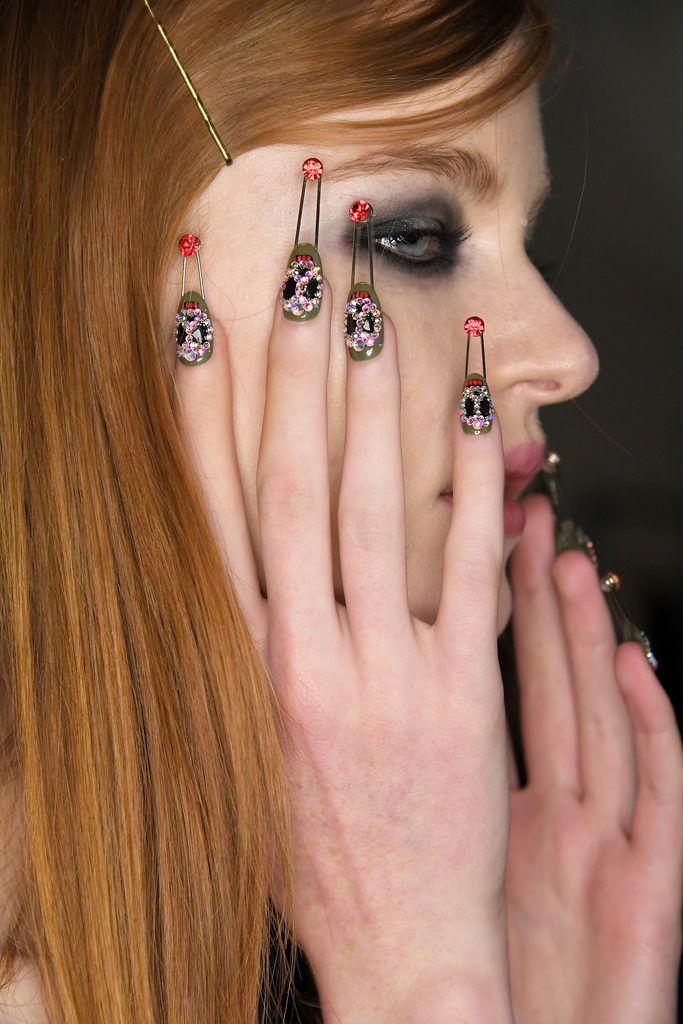 84 best BACKSTAGE Nail images on Pinterest   Cool nail ideas, Autumn ...