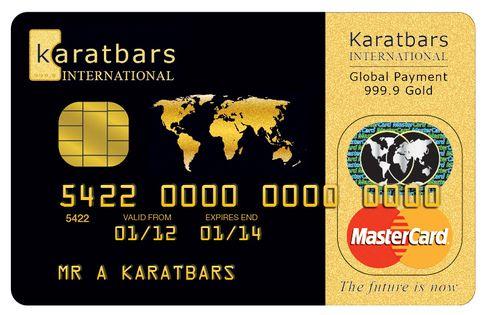Karatbars Prepaid MasterCard