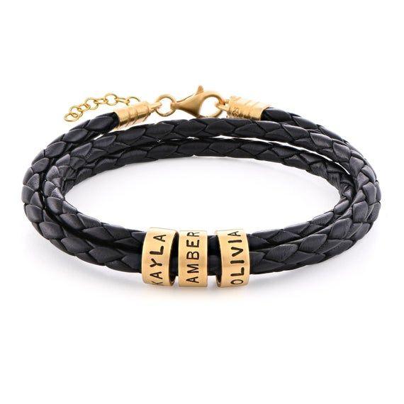 Engraved bracelets Bracelets for women Engraved bracelets for women Sterling silver engraved bracelet Leather engraved bracelet