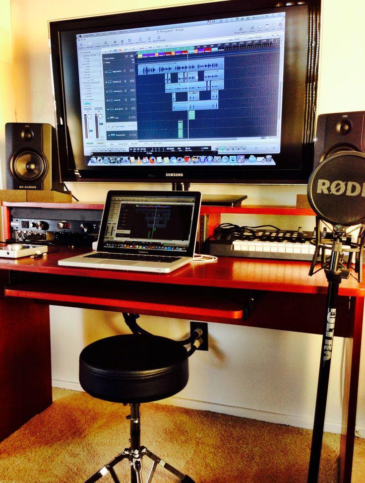 14 best images about recording studio workstations on pinterest. Black Bedroom Furniture Sets. Home Design Ideas