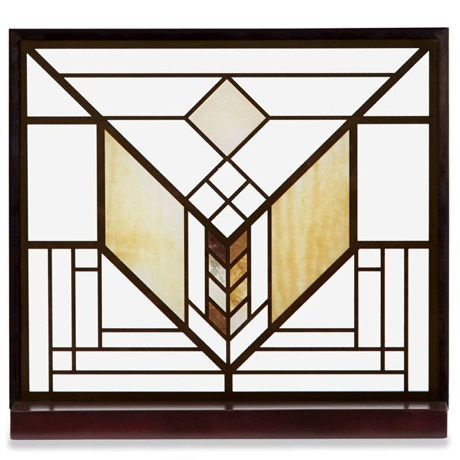 the frank lloyd wright lake geneva tulip stained glass is an adaptation of the tulip window created for the lake geneva inn now demolished in lake geneva