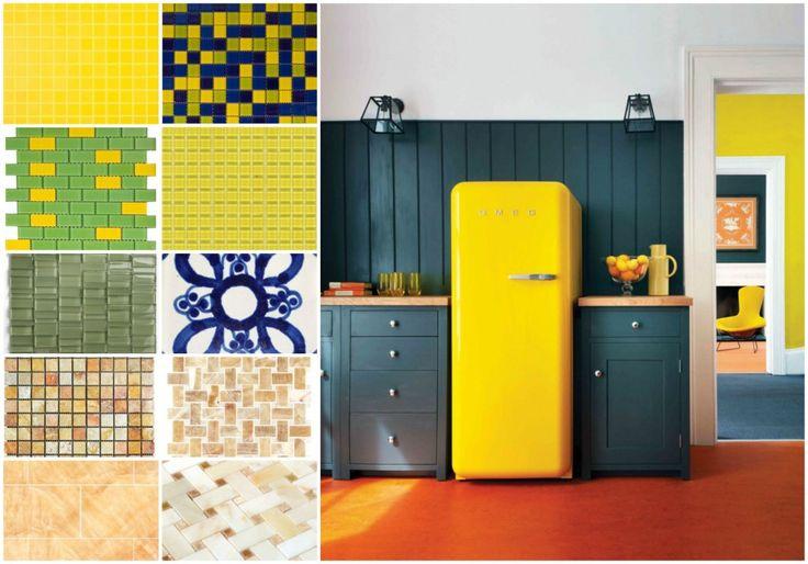yellow turquoise colour yellow yellow smeg kitchens design forward the