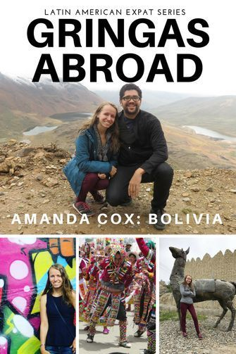 "Up next on our Latin American Expat Series is Amanda from Amanda Cox Design. She is a Canadian who currently lives in Sucre, Bolivia. She works in international development and has a passion for learning about new cultures. She enjoys traveling to less well-known and touristy countries. Her work often takes her to ""developing countries"", where she enjoys traveling to nearby cities on vacations and weekends to get to know the area. Travel in South America."