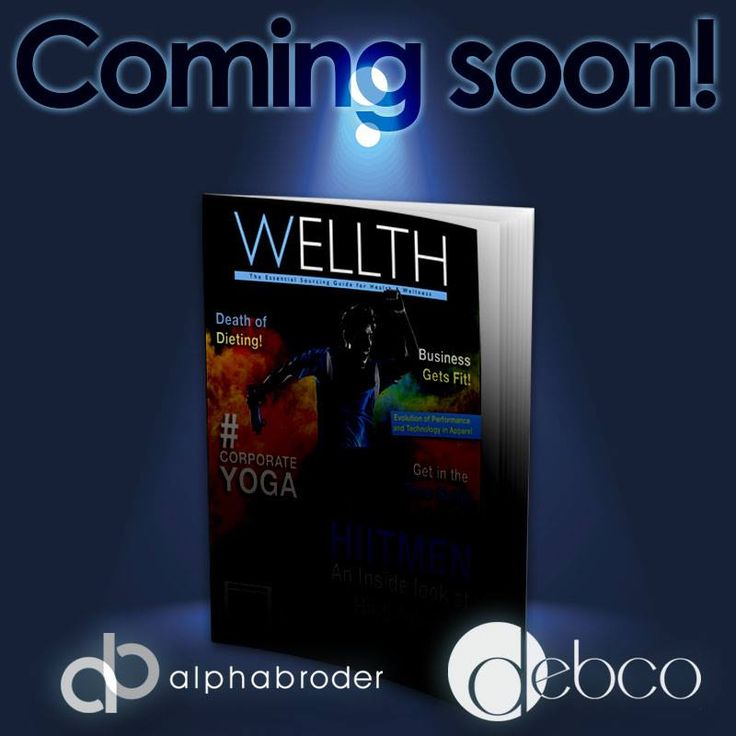 "Debco has partnered with alphabroder with an industry first magazine! Featuring all health and wellness products this magazine titled ""Wellth"" is a beauty. Stay tuned for the link so you can check it out!"