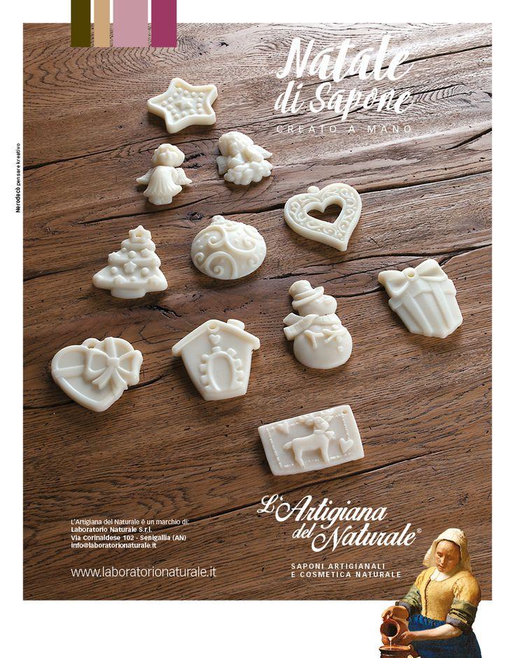#nerodeco per Laboratorio Naturale. #christmas #xmas #soap #naturalstyle #advertising #adv#adv
