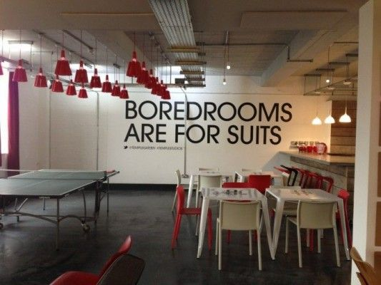Famous brands and companies with famous offices office for Bbdo office design 9