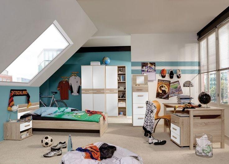 Jugendzimmer Komplett Game Kinderzimmer Eiche Sägerau Weiß 5693 Mit Diesem  Jugendzimmer Vom Hersteller Wimex Treffen Sie Eine Gute Wahl. Wimex Woh