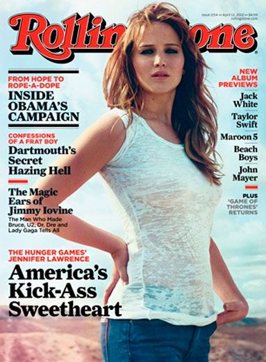 Jenniffer Lawrence for Rolling Stone
