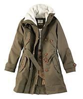 Aigle Blodwen Coat Green