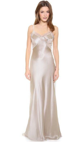 Getting Ready attire: Jenny Packham Slip. Ivory.  #WeddingPlanning, #MuslimWedding www.PerfectMuslimWedding.com