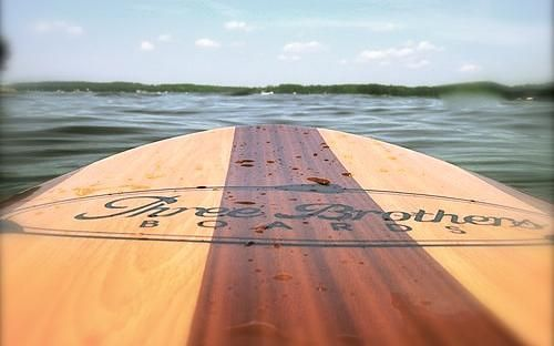 Spend the day on the water. Rent a stand up paddle board from Gyro Beach Board Shop in Cadboro Bay Village, Victoria BC
