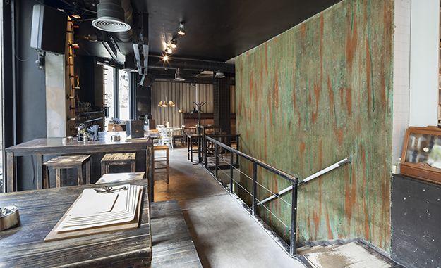 Kupfer Farbe Mit Kupferpatina Effekt #jaegerlacke #Wandgestaltung #Grünspan  #Kupfer #