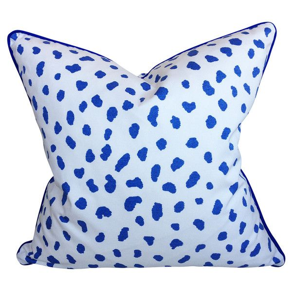 Thibaut Tanzania Cushion in Blue
