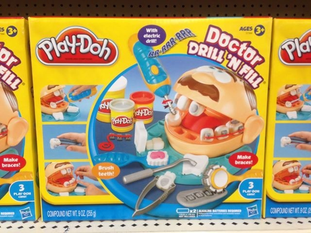 doctor drill 39 n fill by play doh has anyone else seen. Black Bedroom Furniture Sets. Home Design Ideas