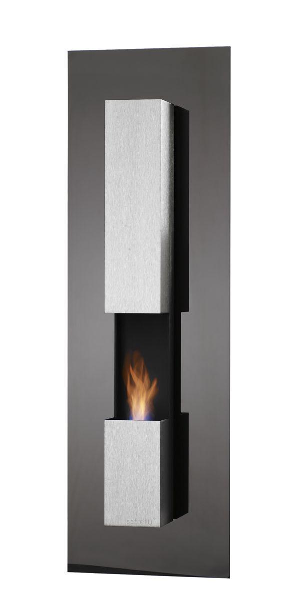 RIVIERA LE GL Safretti Fireplace Collection - #Fireplace #InteriorDesign #Fire #Safretti