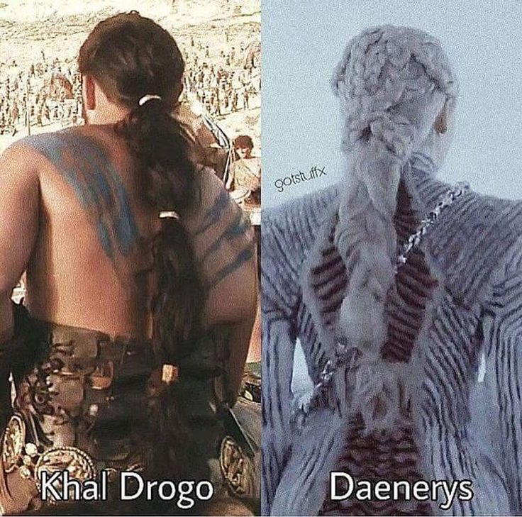 Khal Drogo and Daenerys hair braids Game of Thrones Daenerys of House Targaryen, the First of Her Name, Daenerys Stormborn, Mother of Dragons, The Queen Across the Sea, The Silver Queen Queen of the Andals and the First Men, Lady Regnant of the Seven Kingdoms, Protector of the Realm, Khaleesi of the Great Grass Sea, Breaker of Chains, Mother of Dragons, Mhysa.